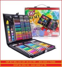 Bộ bút chì màu đa năng đủ loại 150 món dạng cặp sách – Bảo hành 3 tháng