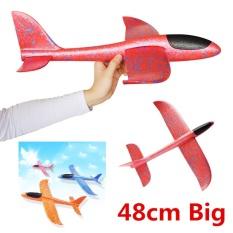 Máy bay tàu lượn phóng tay (phi tay) xốp dẻo siêu bền size lớn 48cm (KN207) – Luân Air Models
