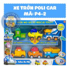 Xe ô tô đồ chơi cho bé chạy trớn mô hình nhân vật hoạt hình bằng nhựa – Đồ khuyến mãi giá tốt