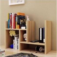 }(GIAO MẪU NGẪU NHIÊN)Kệ sách gỗ để bàn lắp ghép đa năng-Kệ sách gỗ lắp ghép để bàn làm việc cực chất kệ đựng tài liệu văn phòng đơn giản tiện ích