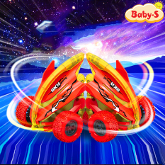 [TẶNG KÈM HỘP] Xe địa hình, xe đồ chơi cho trẻ em dáng cá mập nhào lộn 360 độ giảm xóc và chạy đà cực mạnh bằng nhựa nguyên sinh ABS Baby-S – SDC053