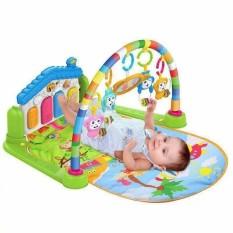 Thảm Nhạc Cho Bé Nằm Chơi, thảm piano ( thảm em bé nằm có nhạc ) LOẠI 1 – Tặng kèm 1 lục lạc cầm tay