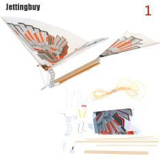 Mô hình cánh bay lắp ráp Jettingbuy kiểu chim bay chiều dài 18 inch, chất liệu sợi carbon kèm sách hướng dẫn chi tiết bằng tiếng Anh – INTL