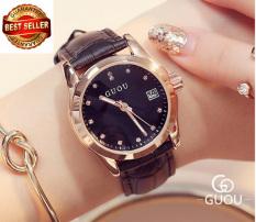 Đồng hồ nữ dây da tuyệt đẹp Guou 8076 (BH 12 tháng)