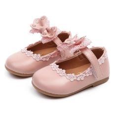 Giày cho bé gái 1 – 3 tuổi đính nơ đáng yêu – G32
