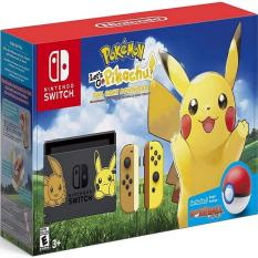Nintendo Switch Pokemon Let's Go! Pikachu Limited Edition Console