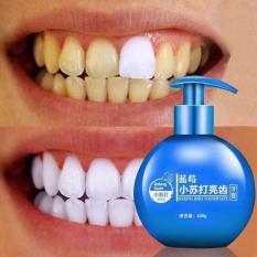 Kem đánh răng siêu trắng baking soda hàng nội địa trung quốc 100% (220g)