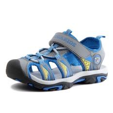 Sandal bé trai kiểu mũi bít thể thao khỏe khoắn – Chống trơn trượt – Thoáng khí – Nhẹ chân