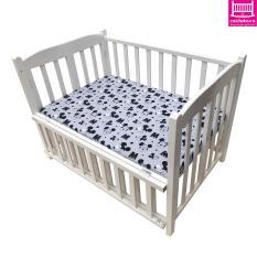 Ga vải bọc đệm cũi cho bé – Kích thước 75×120 – Dùng cho cũi 85×130