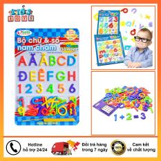 Bảng chữ cái nam châm, đầy đủ bộ chữ cái từ A – Z Kèm theo bộ 4 dấu câu, đồ chơi giáo dục thông minh dành cho bé