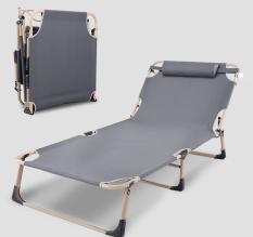 Video giường gấp gọn 4 chân 68x193cm có gối đầu, giường xếp nằm trông người bệnh trong bệnh việnghế bố xếp giá rẻ, ghế bố nằm ngủ, ghế nghỉ trưa văn phòng