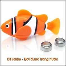 Chú cá Robo Fish bơi lội tung tăng được trong nước – Đồ chơi trẻ em thông minh, Đồ chơi cho bé vui nhộn