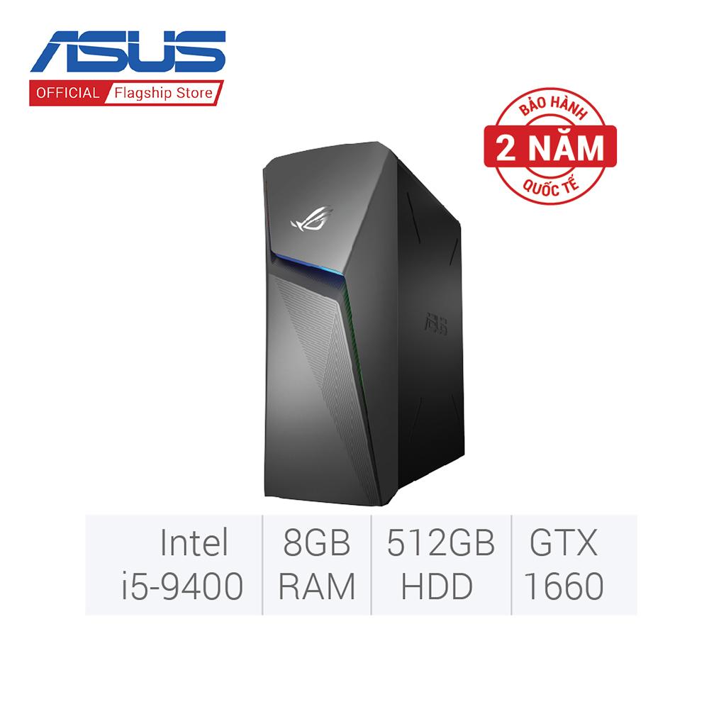 PC Asus ROG Strix GL10CS-VN021T (i5-9400/8GD4/512G-PCIE)- màu xám, hình ảnh sắc nét và sống động, thiết kế đơn giản thanh...