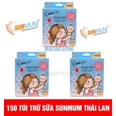 Combo 150 túi trữ sữa sunmum ( 3 hộp 50 túi)