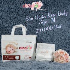 Bịch Bỉm Quần ROSE BABY Đủ Size M, L, XL, XXL, XXXL