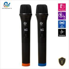 Micro không dây, mích hát karaoke MV01, mích chuyên dành cho mọi loa kéo, âm ly, tần số 50, hát nhẹ và êm, phù hợp cho những bữa tiệc dã ngoại, sản phẩm bảo hành trọn bộ 12 tháng, MV01