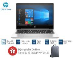 [TẶNG KÈM BALO HP TRỊ GIÁ 400K] Laptop HP ProBook 440 G6 (Core i3-8145U/4GB RAM DDR4/500GB HDD/14″ HD/5YM63PA) – Hàng Chính Hãng