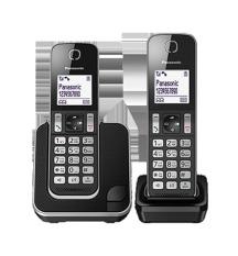 Điện thoại kéo dài Panasonic KX-TGD312 (Đen)