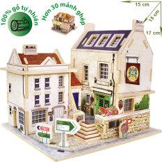Đồ chơi xếp hình ghép hình gỗ -3D Jigsaw Puzzle Wooden Toys HPM6133