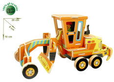 Đồ chơi xếp hình ghép hình gỗ -3D Jigsaw Puzzle Wooden Toys HPMV401