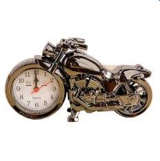 Đồng hồ để bàn hình mô tô MuaRe (Vàng)