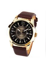 Đồng hồ nam dây da Curren CR01 (Nâu)