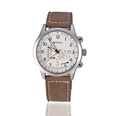 Đồng hồ nam dây da Curren CU18913-15NA (Nâu)