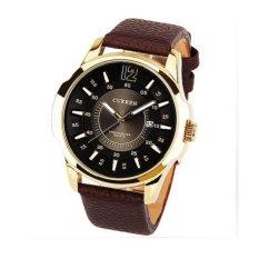 Đồng hồ nam dây da Curren DHN05 (Nâu)