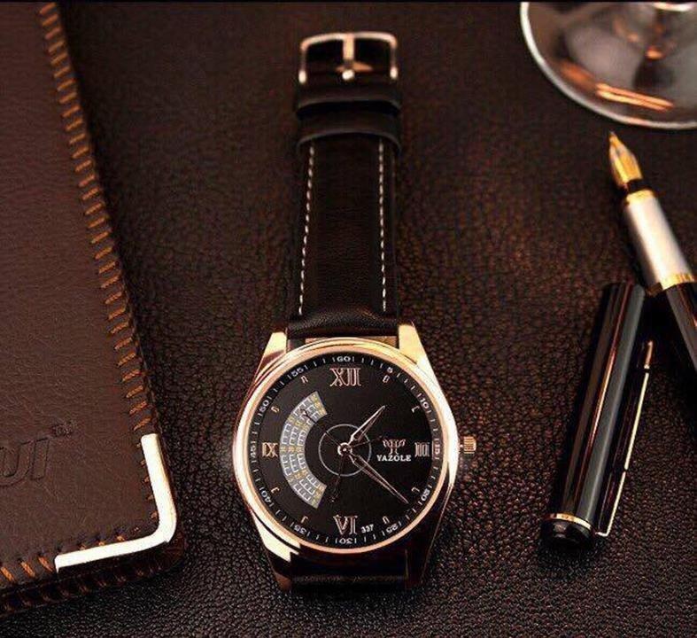 Bảng Báo Giá Đồng hồ nam dây da Yazole T379 NK226 (Nâu)