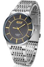 Đồng hồ nam dây inox BOSCK H3304 (Trắng mặt đen)