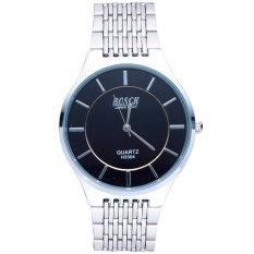 Đồng hồ nam dây inox BOSCK H3304 (Trắng phối đen)