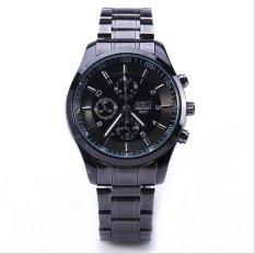 Đồng hồ nam dây kim loại đính đá Bosck 8251 NK222 (Đen)