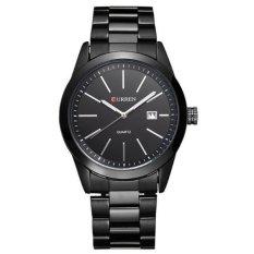Đồng hồ nam dây thép không gỉ Curren 80K0N91 (Đen)