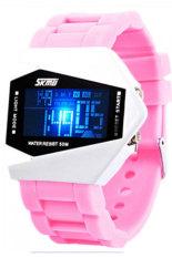Đồng hồ nữ dây cao su Skmei 0817B (Hồng)