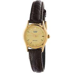 Đồng hồ nữ dây da Casio LTP-1094Q-9ARDF (Nâu)