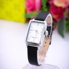 Đồng hồ nữ dây da Julius Hàn Quốc J1151 (Đen trắng)