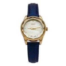 Đồng hồ nữ dây da JULIUS J1128 (Xanh)