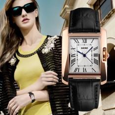 Đồng hồ nữ dây da Skmei 1085 (dây đen)