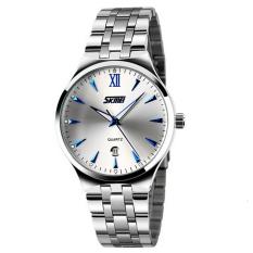 Đồng hồ nữ dây kim loại SKMEI 0511.08NA (Trắng)