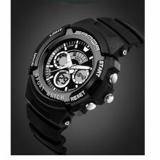 Đồng hồ thời trang thép không gỉ SANDA S3 (Đen)