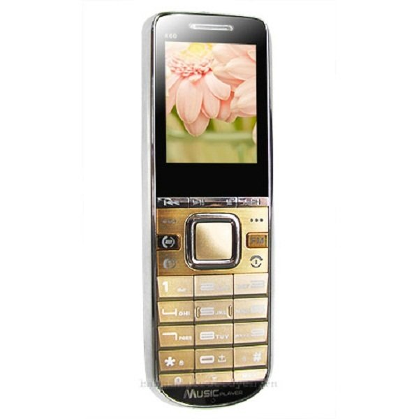 ĐTDĐ Mobile K60 (Vàng)