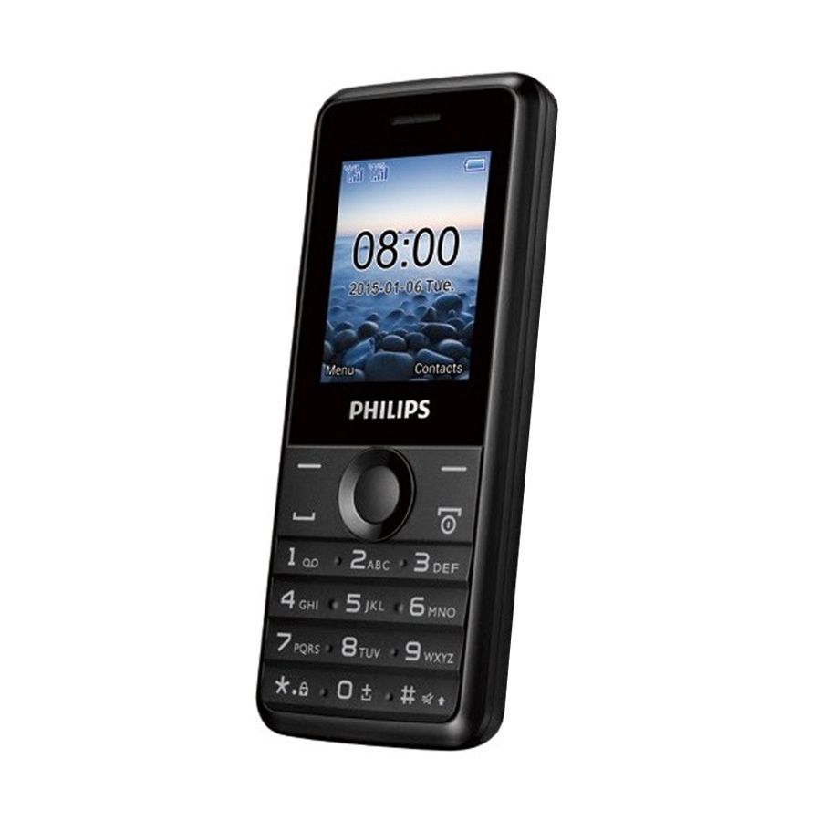 ĐTDĐ Philips E103 4MB 2 Sim (Đen) – Hãng phân phối chính thức