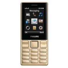 ĐTDĐ Philips E170 2 Sim (Vàng) – Hãng phân phối chính thức
