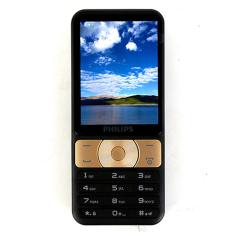 ĐTDĐ Philips E180 2 SIM (Đen Vàng)