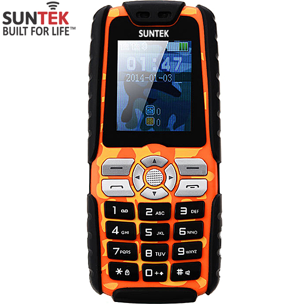 ĐTDĐ Suntek A8 Plus 2 SIM kiêm pin sạc dự phòng 15.000mAh (Cam)