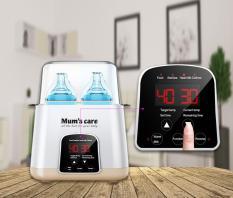 Máy Hâm sữa Và Tiệt trùng bằng hơi nước 7 chức năng Mum's Care 6801 cho bé từ 0 tháng tuổi
