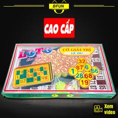 Cờ Lô Tô LÊ DƯ CAO CẤP – Bộ Đồ Chơi Loto 90 Số Nhựa- Bingo Lô Tô Đồ Chơi Trẻ Em BFUN