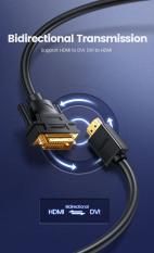 Cáp Chuyển HDMI ra DVI hỗ trợ Full-HD 1080p Chính Hãng UGREEN HD106 Cao Cấp