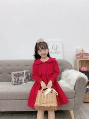 [Xả kho không lợi nhuận]Váy thu đông nhung tăm bé gái ,đầm nhung tăm cao cấp,Váy nhung cho bé gái,Váy Bé Gái Dài Tay Mùa Xuân Và Mùa Thu 2020 Mới 1 Tuổi 3 Bé Gái Kiểu Nước Ngoài Váy Lưới Váy Trẻ Em Hàn Quốc