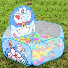 Nhà bóng cho trẻ em Doremon & Kitty – Lều bóng cho bé (kèm bóng)